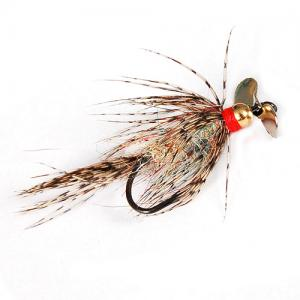 Propeller Streamer Brown