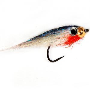 Стример с вольфрамовой головкой Tungsten Streamer White-Red