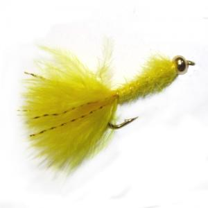 Bead Head Mini Bugger Yellow